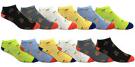 Fun Socks Spandex - Pineapples // 1 CASE (30 DZ) - $2.55/DZ