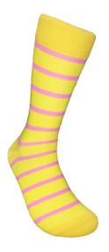 FineFit Stripe Dress Socks (SD424) - 1 Dozen