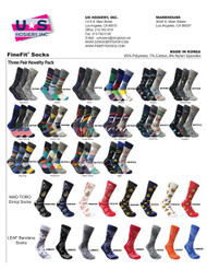 Novelty Triple Socks Catalog