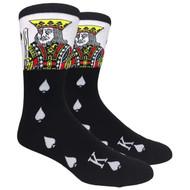 FineFit Novelty Socks - The King (NV009) - 1 Dozen