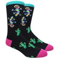 FineFit Novelty Socks - Gekko (NV033) - 1 Dozen
