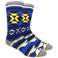 FineFit Novelty Socks - Southwest (NV054A) - 1 Dozen