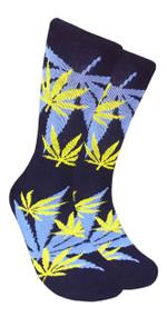 LEAF Republic Marijuana Print Crew Socks (LF006)