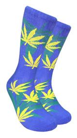 LEAF Republic Marijuana Print Crew Socks (LF008)