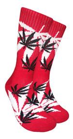 LEAF Republic Marijuana Print Crew Socks (LF024)