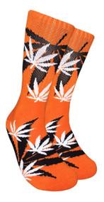 LEAF Republic Marijuana Print Crew Socks (LF028)