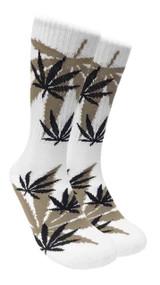 LEAF Republic Marijuana Print Crew Socks (LF030)