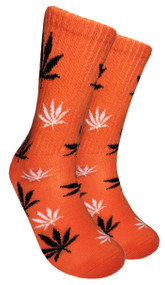 Mad Toro Marijuana Design Crew Socks (TR013)