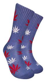 Mad Toro Marijuana Design Crew Socks (TR020)