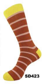 FineFit Stripe Dress Socks (SD423)