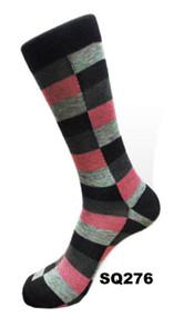 FineFit Square Dress Socks (SQ276) - 1 Dozen