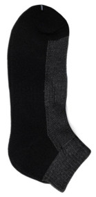 Running Mate Quarter Socks - Grey/Black (SR208GB) - 1 Dozen