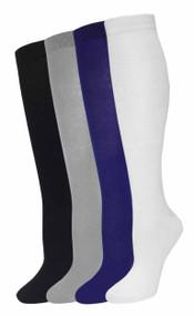 Julietta Knee-High Socks - Plain (SR410) - 1 Dozen