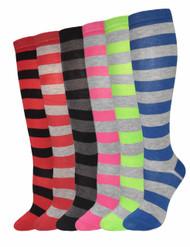 Julietta Knee-High Socks (SR412) - 1 Dozen