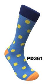FineFit Polka Dot Dress Socks (PD361) - 1 Dozen