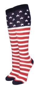 Julietta Knee-High Socks - Stars and Stripes (SR447) - 1 Dozen