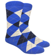 FineFit Black - Royal Blue Argyle (ADB004) - 1 Dozen