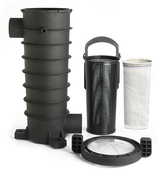 Paramount Equipment Side Debris Canister (EDC) - Canister, Basket, Lid, & Bag