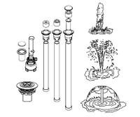 Parascope® 2013 3-in-1 Complete Fountain (Vinyl)