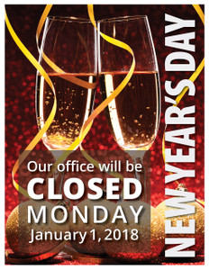 office closed for holiday sign zaxa tk