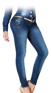 Latin Fit Jeans by Esencial - Teodora