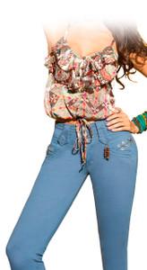 Jeans Latin Fit - Esencial - Azafran