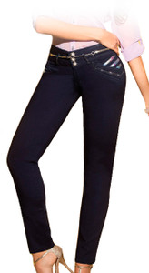 Latin Fit Jeans by Esencial - Jasmin