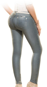 Latin Fit Jeans by Esencial - Luky