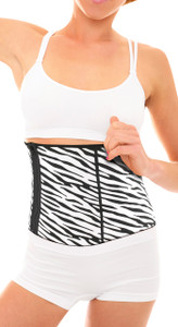 Slimming Belt - Zebra design