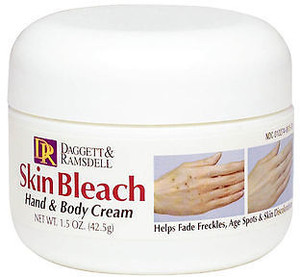 Skin Bleach Hand & Body Cream
