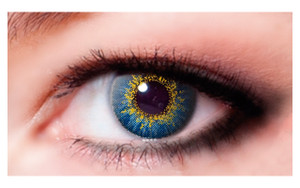 Color Contact Lenses-True Sapphire