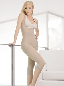 Full Body Thermal Braless Capri Skin