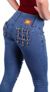 Jeans Levanta Pompis modelo Lala