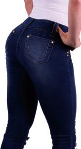Jeans Levanta Pompis modelo Perla
