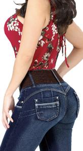 Jeans Capri Danesi with Push Up Colombian Design - Leila