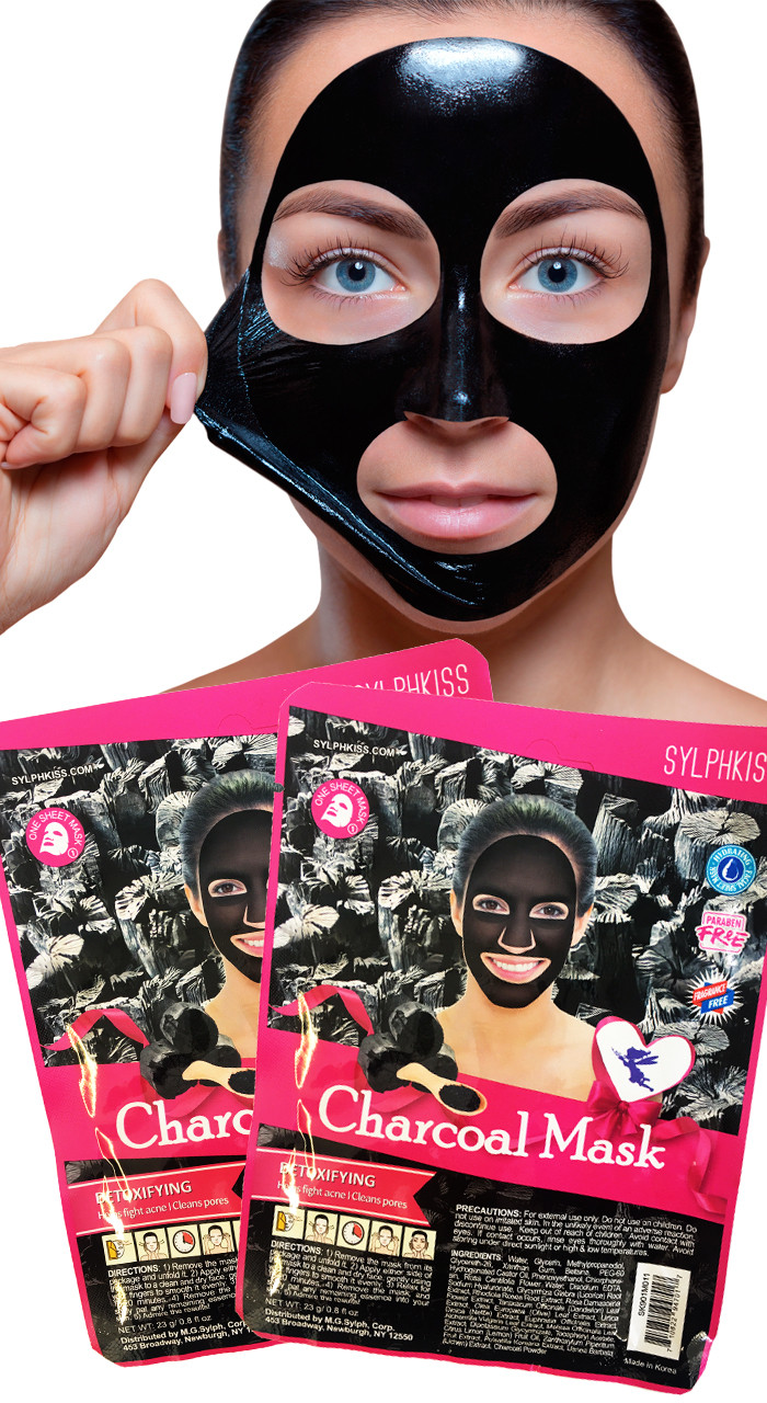 Charcoal Sheet Mask
