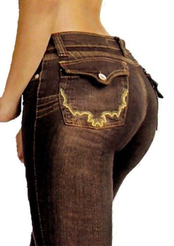 Lifts your buttocks Flattens your tummy and shapes your legs Gives a 100% natural look! Stretch jeans Jeans  made with built in material to shape your body and lift buttocks Push Up Jeans Colombian Jeans Very Comfortable