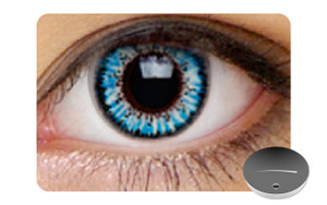 Color Contact Lenses-Dajavu Sugar Blue Look