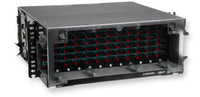 144 Port Panel CCH-04U Loaded with SCU SM Duplex Adapter Plates and Adapters