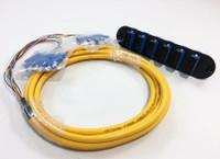 CCH-CP12-59-P03RH - CCH FOOTPRINT 12 FIBER SCU DUPLEX SM (OS2) W/ 3M PIGTAIL CLOSET CONNECTOR HOUSING