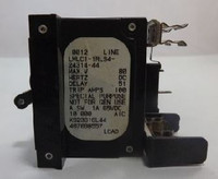 LMLC1-1RLS4-24314-44 Circuit Breaker 80 Amp Clip-In Black Handle 1-Pin  with Strap