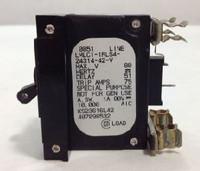 LMLC1-1RLS4-24314-42 Circuit Breaker 60 Amp Clip-In Black Handle 1-Pin with Strap