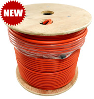 LMR®-400-LLPL Type Plenum Low Loss Coax Cable 500' REEL - ORANGE JACKET - LOW400PORD - SHIPS FREE IN THE US!