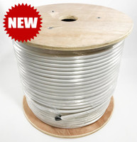 LMR®-400P Type Plenum Low Loss Coax Cable 500' REEL - WHITE JACKET - LOW400PWHD