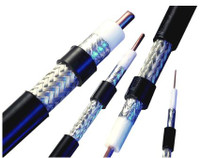 RG-58/LMR®-195 Type Low Loss RF Coax Cable Per Foot