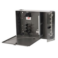 PWH-02P Pretium Wall Mountable Housing, Holds 2 CCH Connector Panels