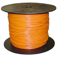 Indoor Distribution Fiber Optic Cable, 62.5/125, Multimode, Duplex, Orange, OFNR, 1000' Spool