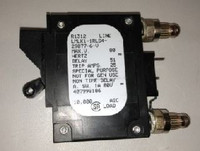 LMLK1-1RLS4-29877-6   20 Amp Circuit Breaker Bullet Blank Handle 2-Pin w/Strap