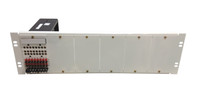 """ADC MINI-DSX-1/W DSX1 6-Position Front Cross Connect Chassis with One Module 19""""x8"""" (New Surplus)"""
