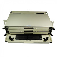 LDM-432-ZZZ 6 Drawer Splice Deck Panel Assembly 432-Fibers